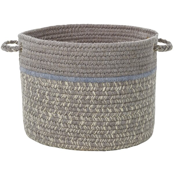 Banded Basket by Highland Dunes