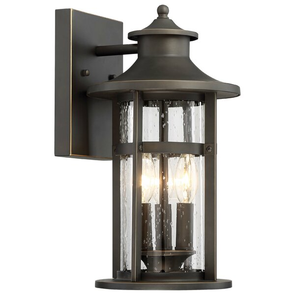 Mariam 3-Light Outdoor Wall Lantern by Longshore Tides