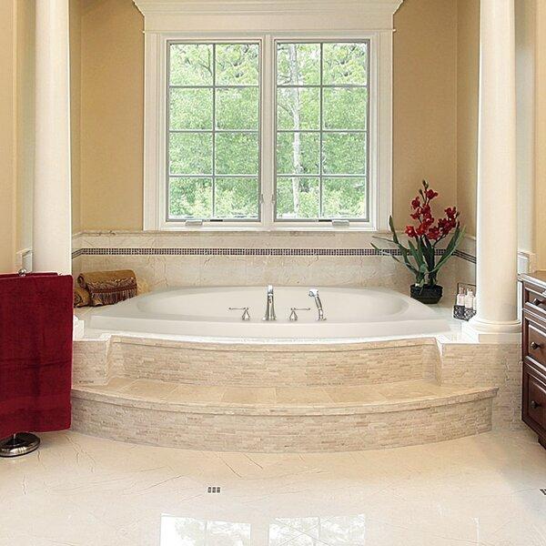 Designer Largo 82 x 64 Soaking Bathtub by Hydro Systems