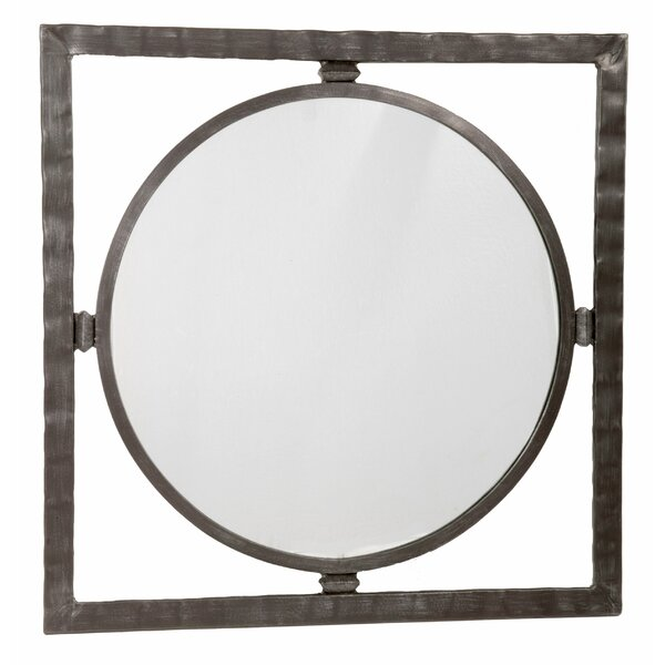 Roybal Large Round Mirror by Loon Peak
