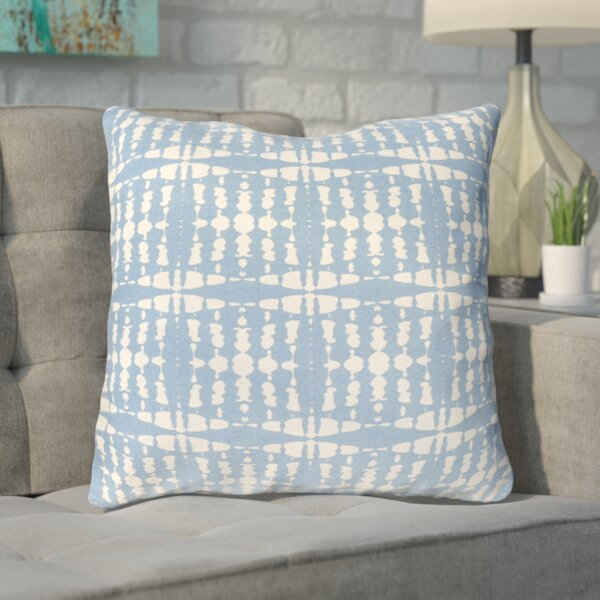 Clevedon Cotton Throw Pillow by Mercury Row