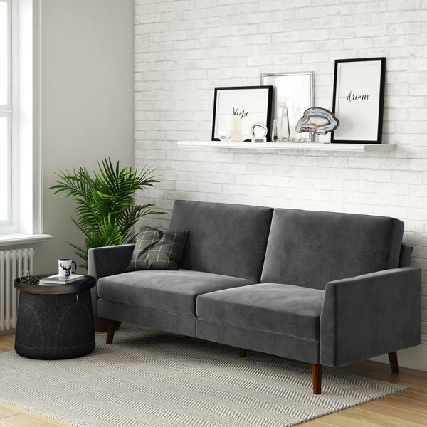 #2 Earle Convertible Sofa By Hashtag Home Comparison
