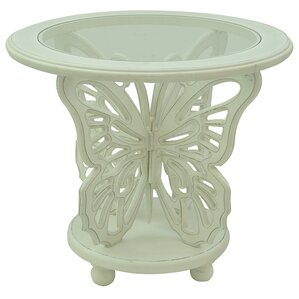 Bethany End Table by Crestview Collection