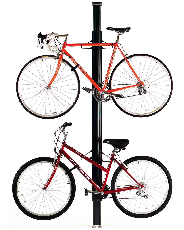 Support Velo Au Plafond 4 bike storage ceiling mounted bike rack