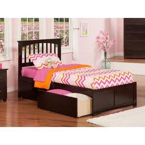 georgia extra long twin slat bed