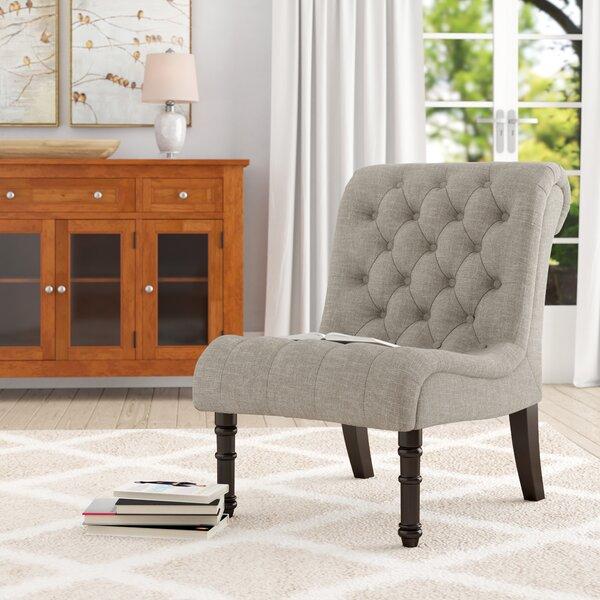 Lambrecht Slipper Chair by Charlton Home