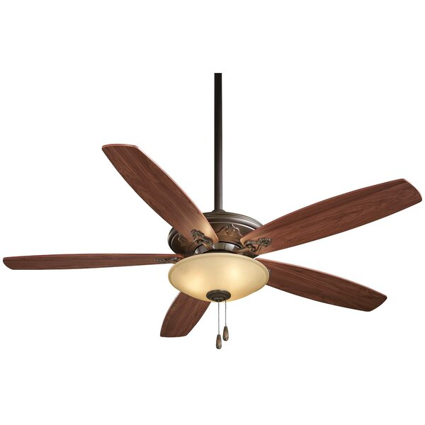 52 Traditional Mojo 5 Blade Ceiling Fan by Minka Aire