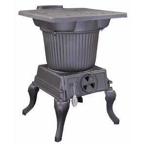 Rancher 1,000 sq. ft. Direct Vent Coal Stove