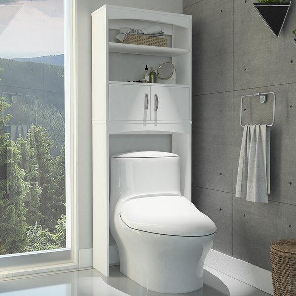 Hidevale 23.8 W x 64.9 H x 9.8 Over the Toilet Storage