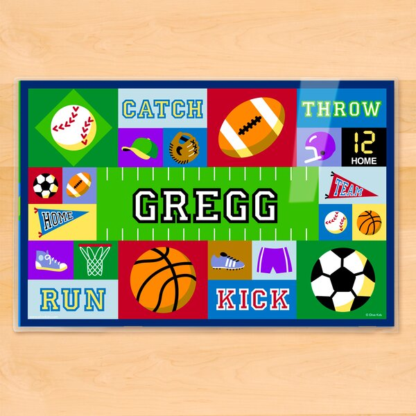 Game On Personalized Placemat by Olive Kids