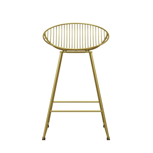 Ellis 24.5 Bar Stool by CosmoLiving by Cosmopolitan