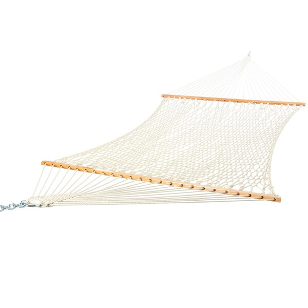 Hamann Deluxe Cotton Rope Tree Hammock by Highland Dunes
