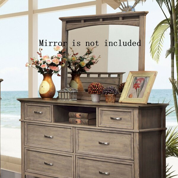 Hilliard 6 Drawer Double Dresser by Loon Peak
