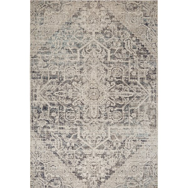 Medallion Sofia Navy/Blue Indoor/Outdoor Area Rug by Nicole Miller