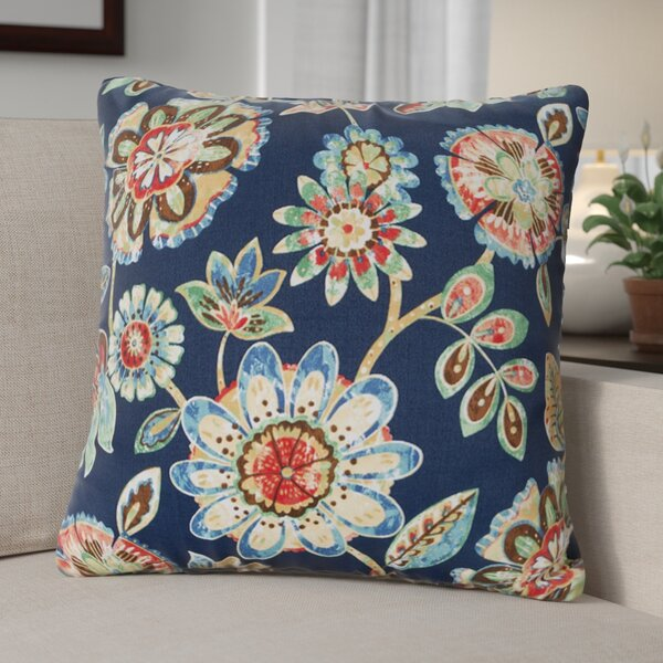 Billings Magnolia Outdoor Throw Pillow (Set of 2) by Andover Mills