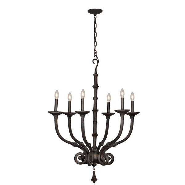 Quane 6-Light Candle Style Classic / Traditional Chandelier By Gracie Oaks