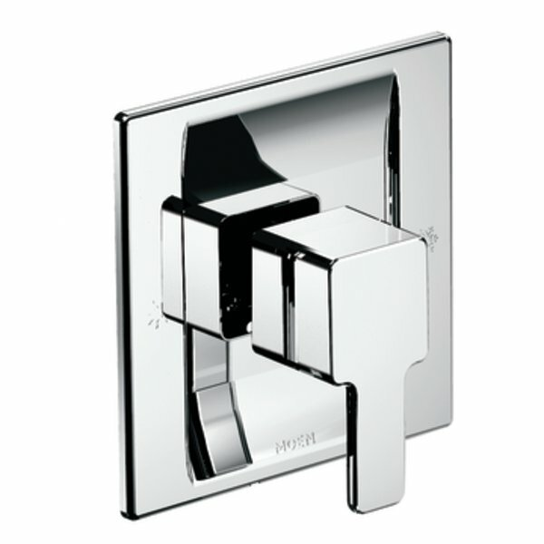90 Degree Moentrol Shower Faucet Trim with Lever Handle by Moen