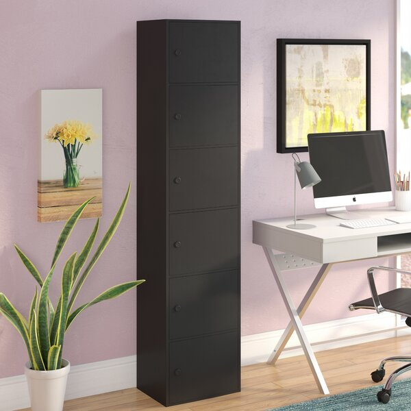 Alysa 6 Door Storage Cabinet by Ebern Designs