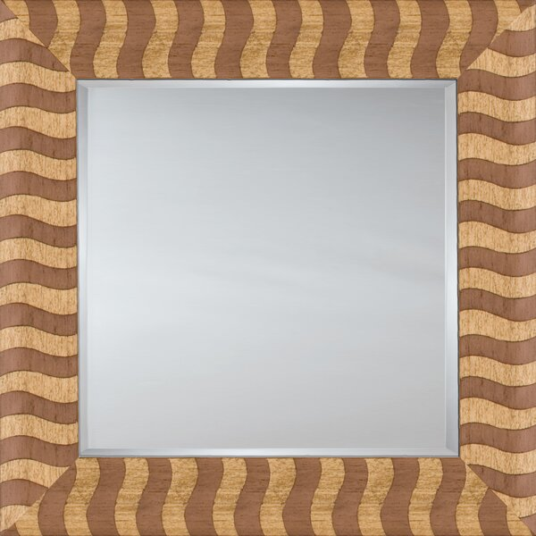 Mirror Style 81145 - Salmon Wood Stripe by Mirror Image Home