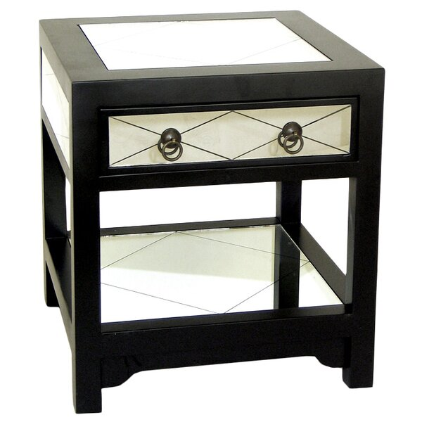 Hannes End Table by House of Hampton House of Hampton
