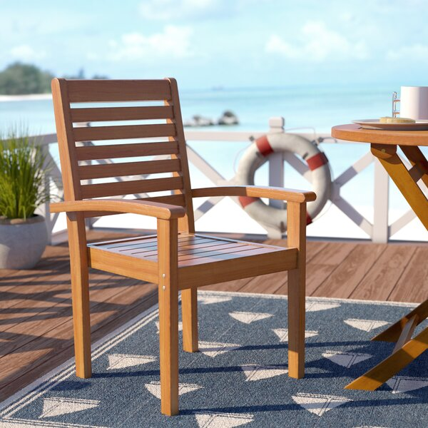 Rivas Patio Dining Chair (Set of 2) by Rosecliff Heights Rosecliff Heights