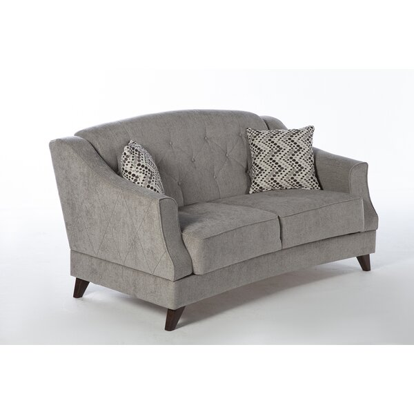 Carpentier Sleeper Love Seat by Darby Home Co