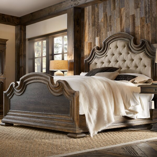 Hill Country Upholstered Platform Bed by Hooker Furniture