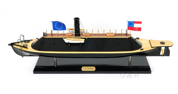 CSS Virginia Model Boat by Old Modern Handicrafts