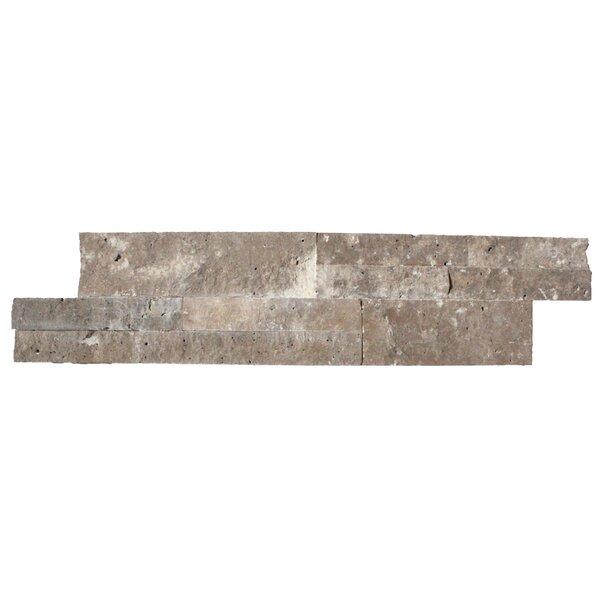6 x 24 Travertine Splitface Tile in Cordoba Noche by MSI