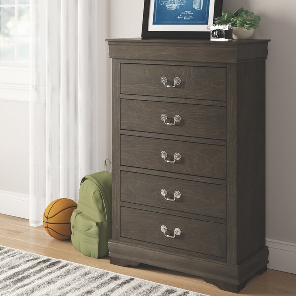Sophia 5 Drawer Chest by Grovelane Teen