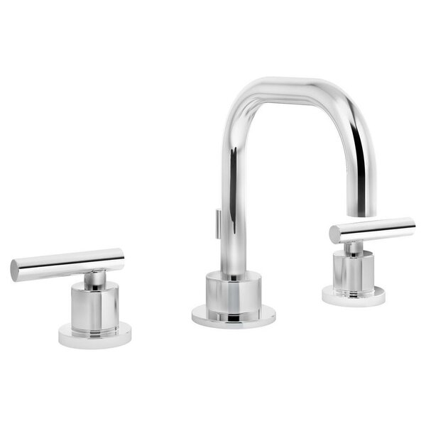 Dia Mount Widespread Bathroom Faucet with Drain Assembly by Symmons