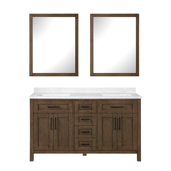 Tahoe 59 Double Bathroom Vanity Set with Mirror