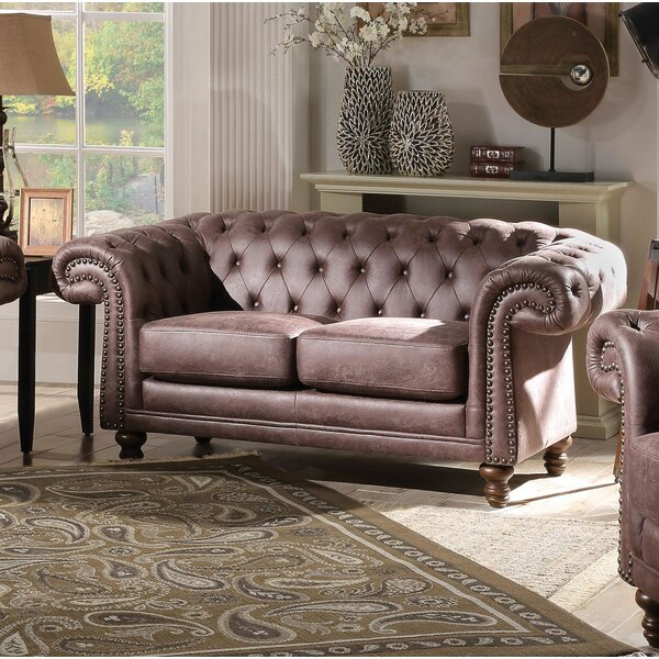 Oconnell Standard Loveseat by Canora Grey