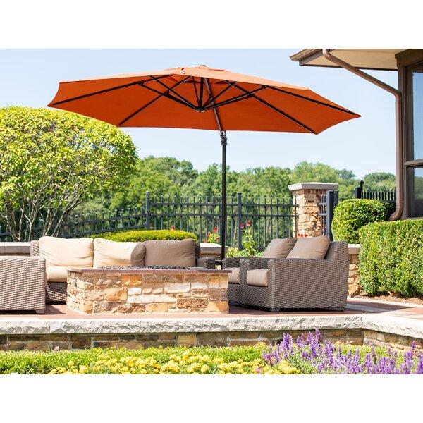 Lennie Cantilever Sunbrella by Canora Grey