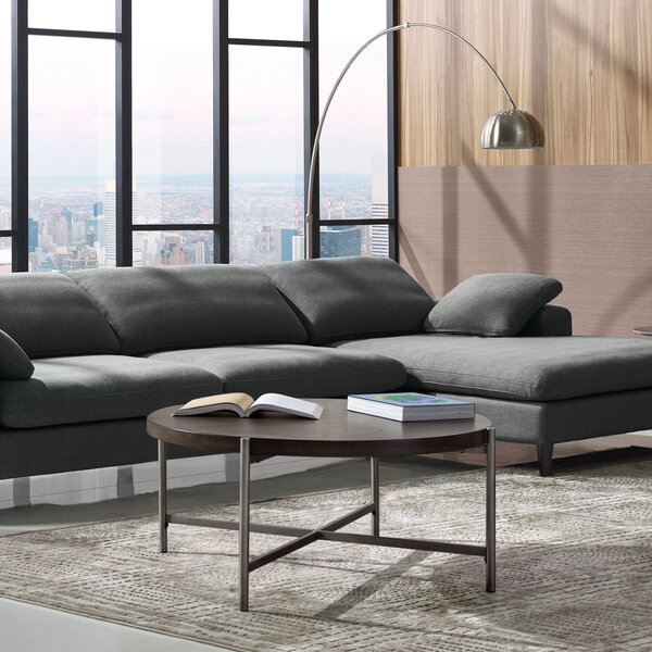 Atwood Coffee Table With Tray Top By Diamond Sofa