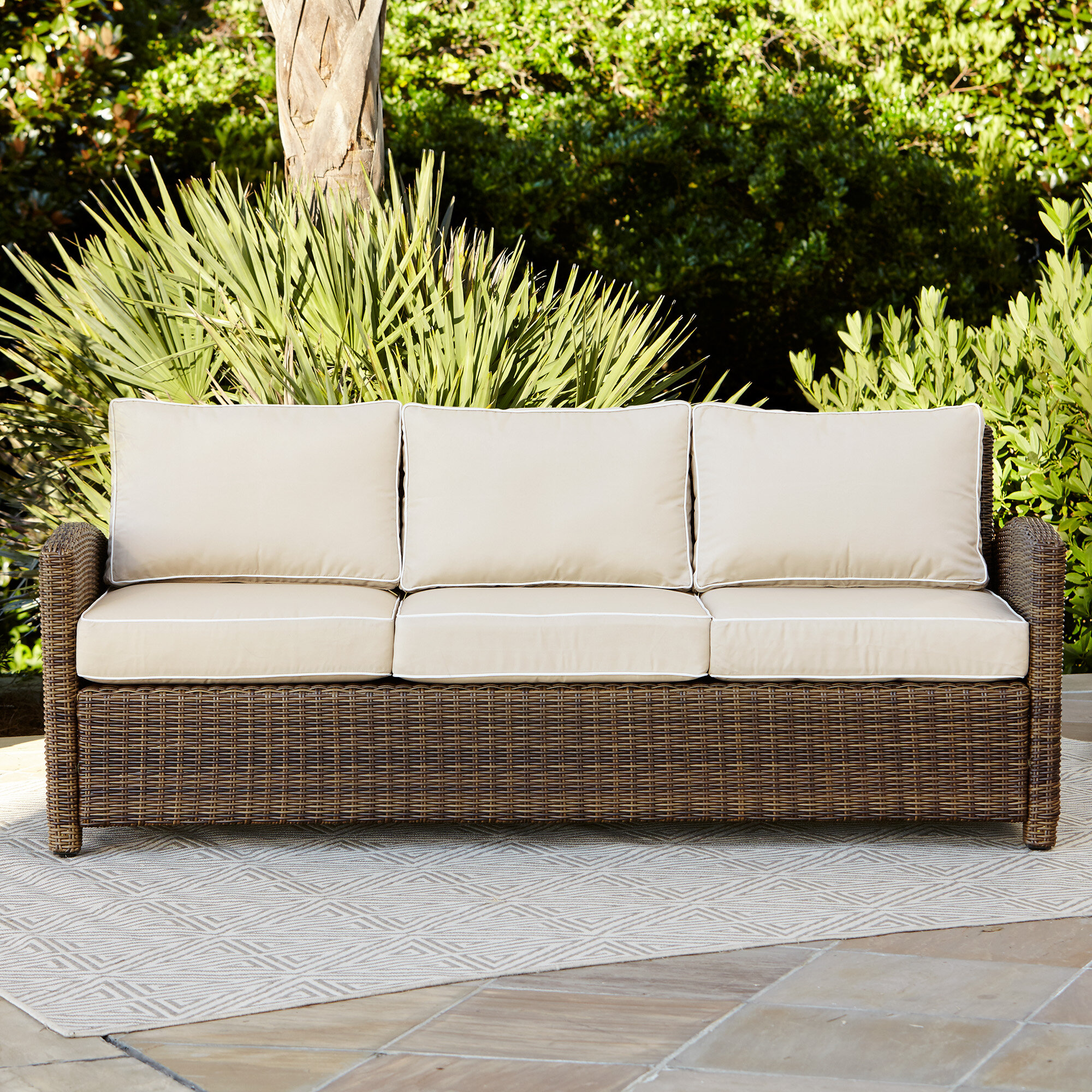 Magnificent Lawson Patio Sofa With Cushions Cjindustries Chair Design For Home Cjindustriesco