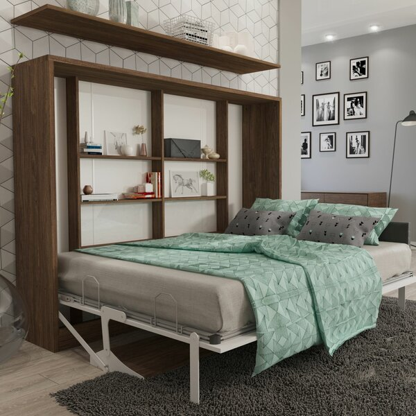 Gautreau Full/Double Murphy Bed by Brayden Studio Brayden Studio