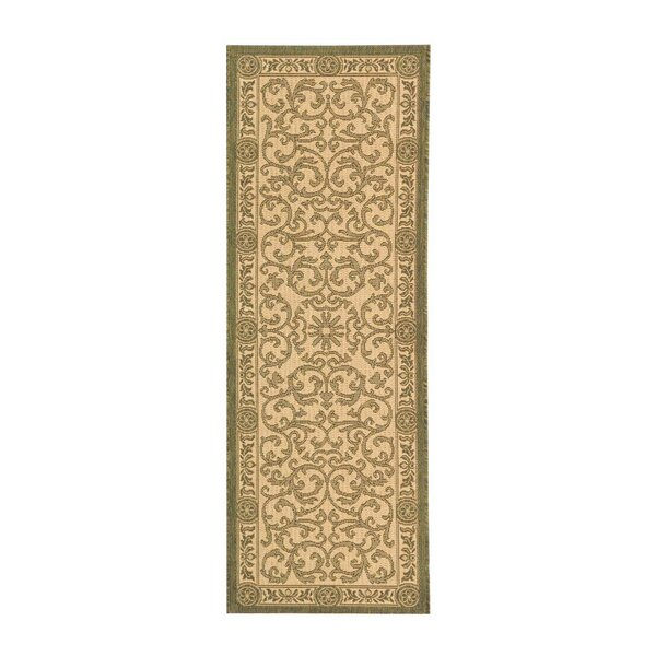 Carsen Natural/Olive Indoor/Outdoor Area Rug