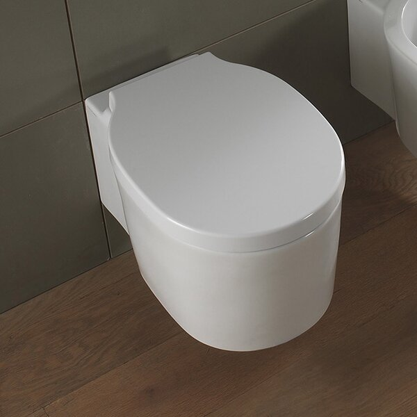 Bucket 1.2 GPF Elongated Toilet Bowl by Scarabeo by Nameeks