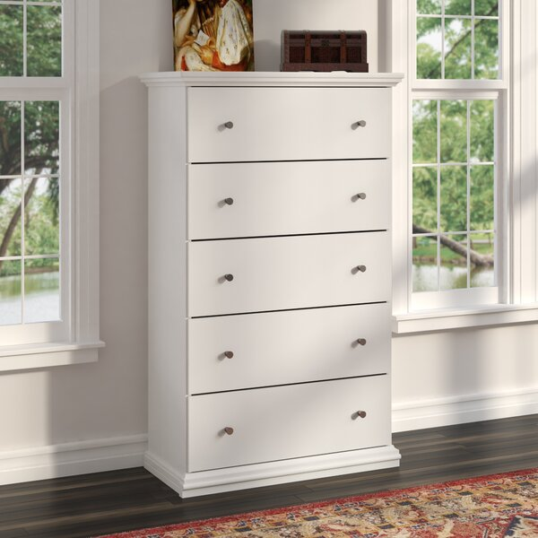 Petrin 5 Drawer Chest by Winston Porter