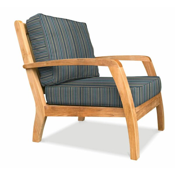 Ortega Deep Seating Club Chair by Rosecliff Heights