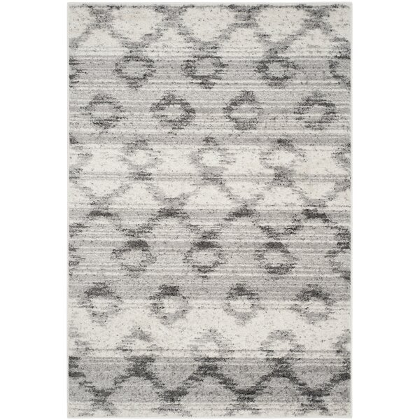 Shults Silver/Charcoal Area Rug by Trent Austin Design