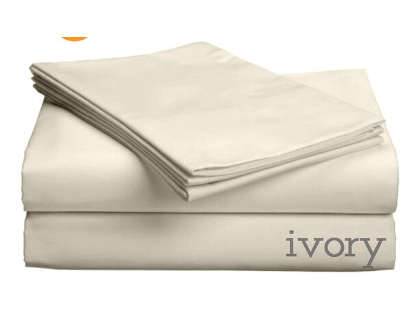 Valerie 618 Thread Count Thin Pocket Sheet Set by Darby Home Co