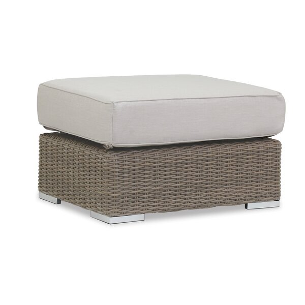 Coronado Ottoman with Cushion by Sunset West