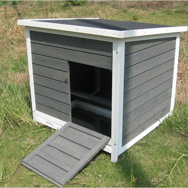 Detroit Nesting Roosting Box Chicken Coop with Metal Tray by Coops & Feathers