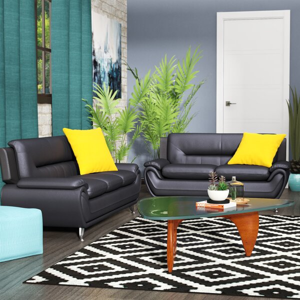Hawking 2 Piece Living Room Set by Zipcode Design