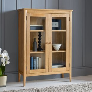 Westley Display Cabinet & Oak Display Cabinets | Wayfair.co.uk