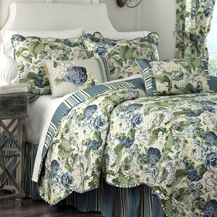 Floral Flourish Reversible Quilt Set. By Waverly