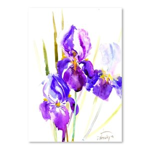 Irises (2) Painting by East Urban Home
