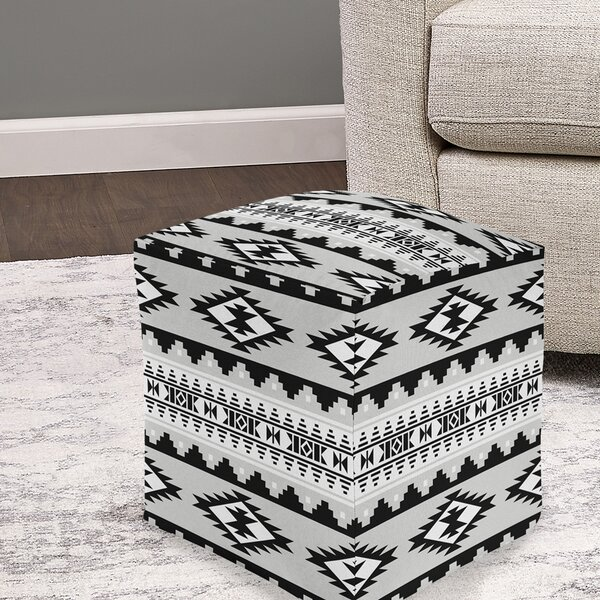 Colonial Pouf by Union Rustic